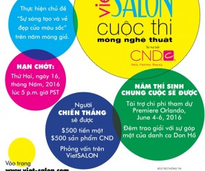 VietSALON's Nail Artistry Competition