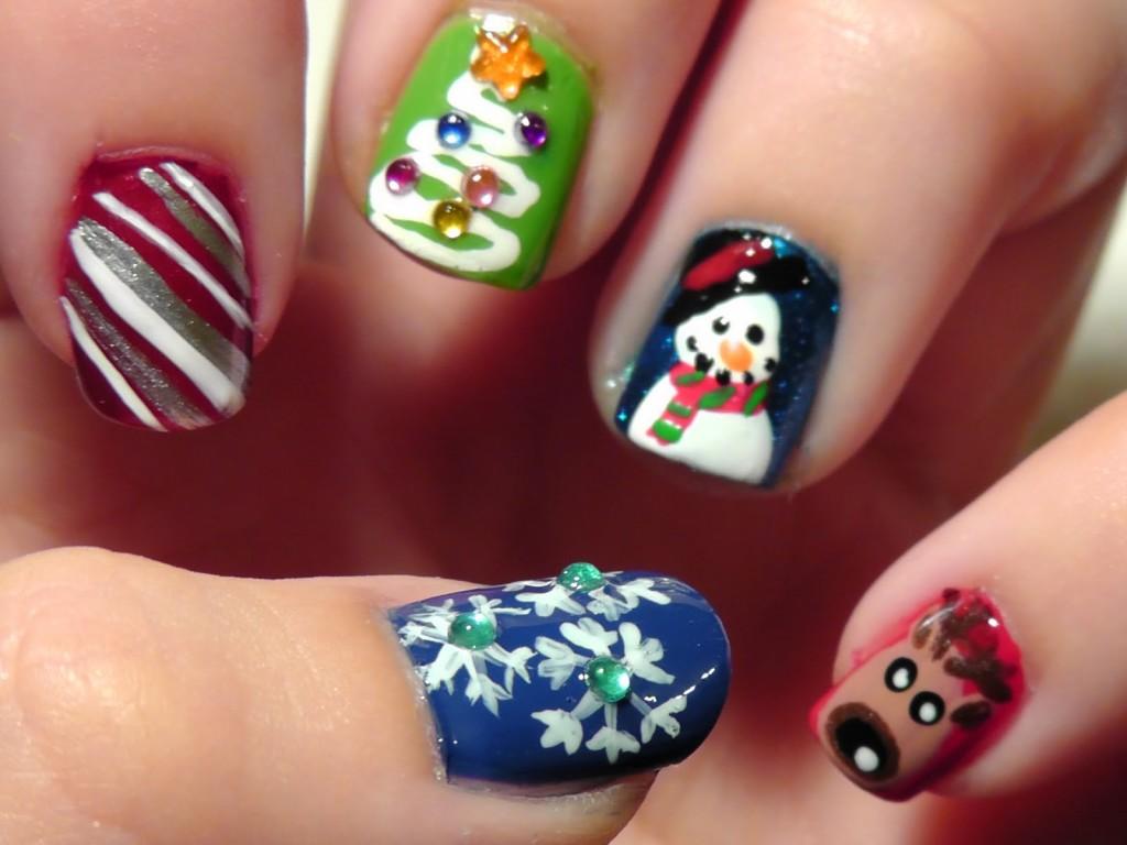 Nail template designs cute1