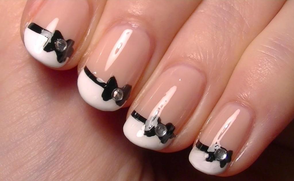 Nail template designs cute