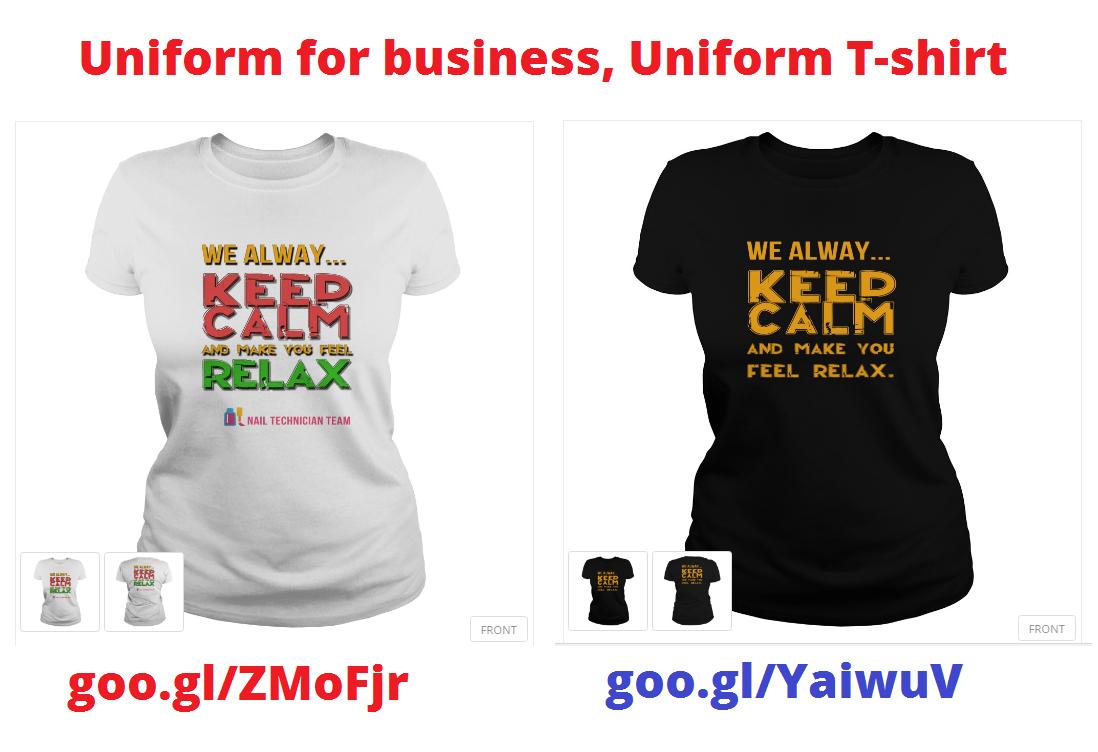 Uniform for nail technician