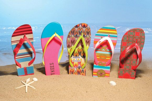 Selected Flip-flops Or Sandal For The Summer