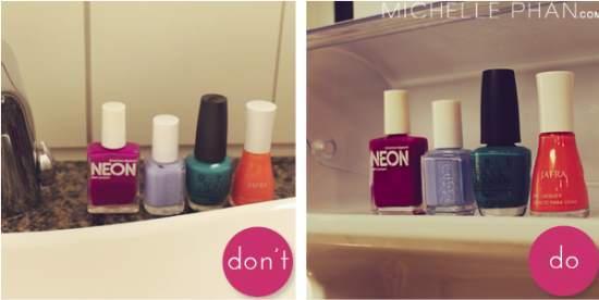 Should and should not do when the nail polish