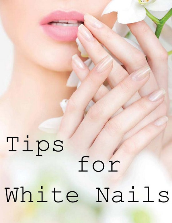 Nail Care: The Natural Approach Helped White Nail Health