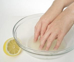 Nail Care: Nail Whitening With Lemon Juice