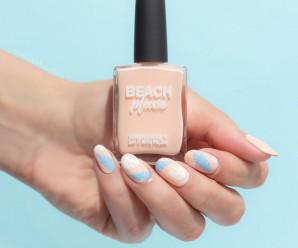 (English) Sea Pastel Colors Nail Paint