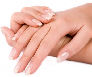 Natural nail care and simple