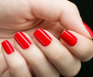 How beautiful nail polish is long pole kept simple color
