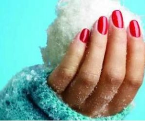 Principles of winter nail care