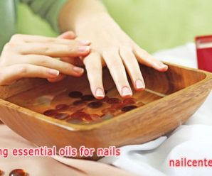 Nail care at home after a manicure